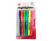 Набір маркерів 6 кольорів 3121-6 /056962 асорті