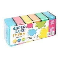 Губка Волна 5+1 Super Luxe 10018
