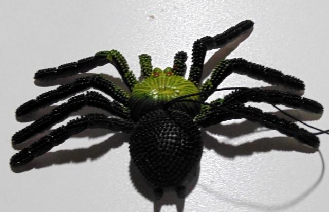 Павук силіконовий асорті 0847