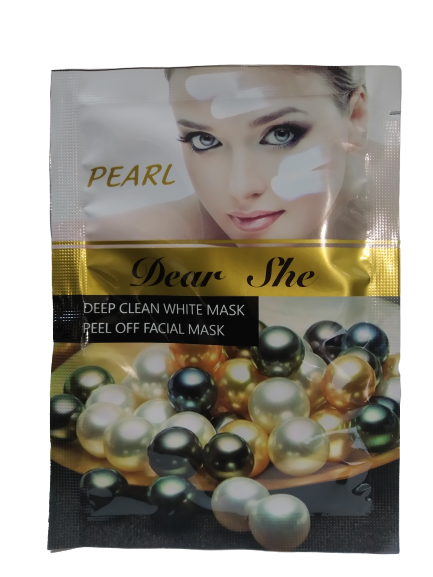 Маска для обличчя Dear She pearl 0870