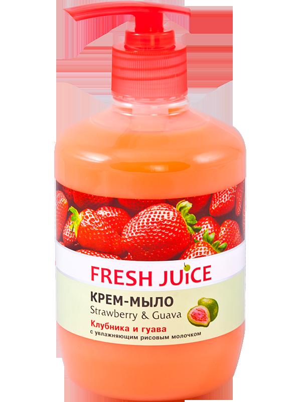 Крем-мило Fresh Juice Полуниця та гуава 460мл