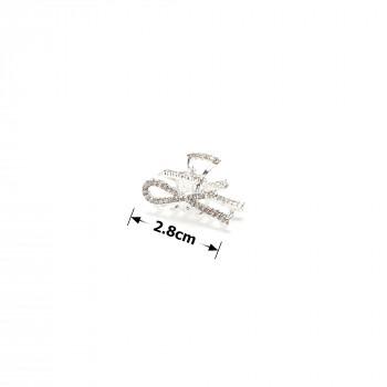 Заколка-краб металава 15789/ТХ-6704 G