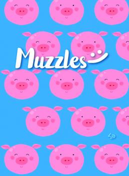 Блокнот A5 Muzzles 4P асорті