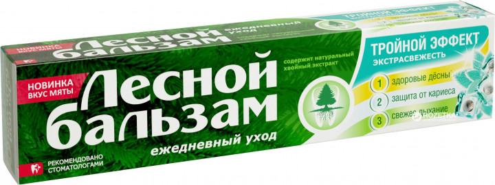 Зубна паста Лесной Бальзам Подвійна м'ята 75мл