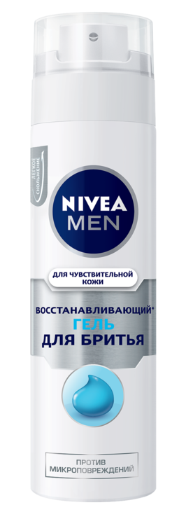 Гель для гоління NIVEA MEN Відновлення 200мл