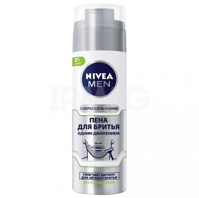 Піна для гоління NIVEA MEN Одним рухом 200мл