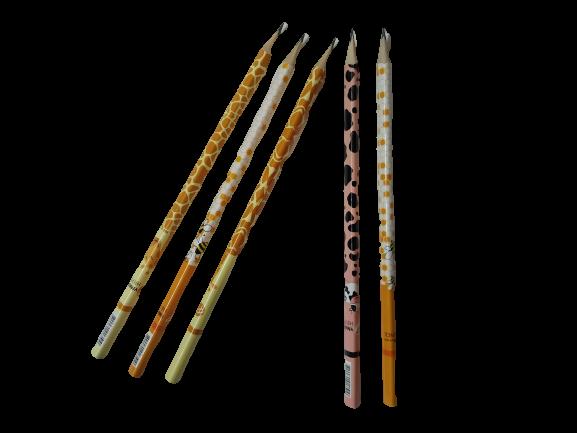 Олівець з гумкою Fauna ГК55 Умка