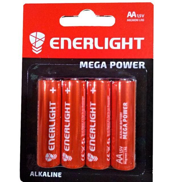 Батарейки ENERLIGHT MEGA POWER R6 4шт