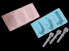 Форма для морозива силікон асорті 0150/0151