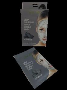 Маска для обличчя Dear She Charcoal тканинна. Фото 2