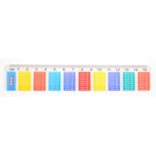 Лінійка 15см Таблиця множення 370464 1Вересня