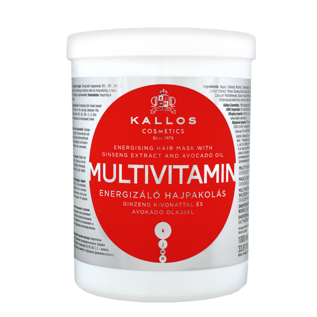 Маска д/волосся Kallos Multivitamin живильний 1л