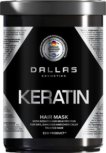 Маска д/волосся Dallas Keratin з молоч протеїном 1л