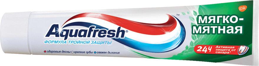 Зубна паста Aquafresh М'яко-м'ятна 50мл