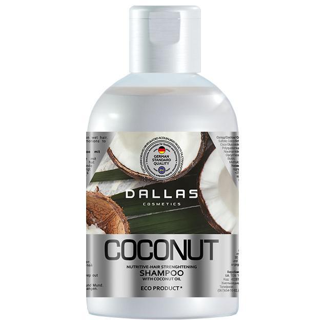 Шампунь Dallas Coconut живильний 1000г