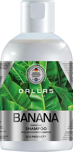 Шампунь Dallas Banana зміцнювальний 1000г