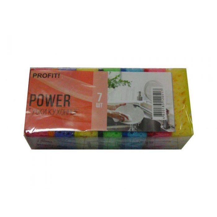 Губка кухонна Power 7шт Profit
