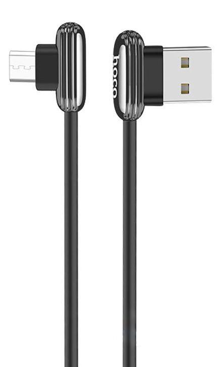 Шнур для зарядки Android Hoco U60 1.2м чорний