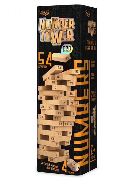 Гра розвиваюча настільна NUMBER TOWER