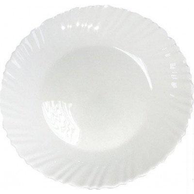 Тарілка обідня 22 см Хвиля Vittora VT-1220W