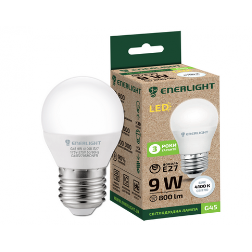 Лампочка LED ENERLIGHT P45  7W E14 4100K