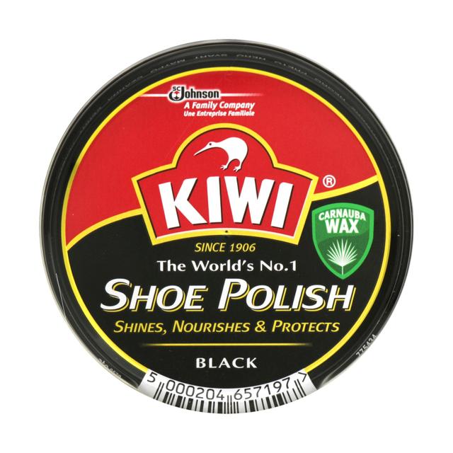 Крем для взуття в банці KIWI чорний 50 мл