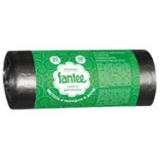 Пакети для сміття 35*50 Fantee