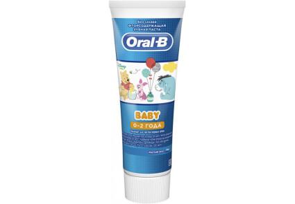 Зубна паста для дітей Oral-B Baby Winnie The Pooh 75 мл