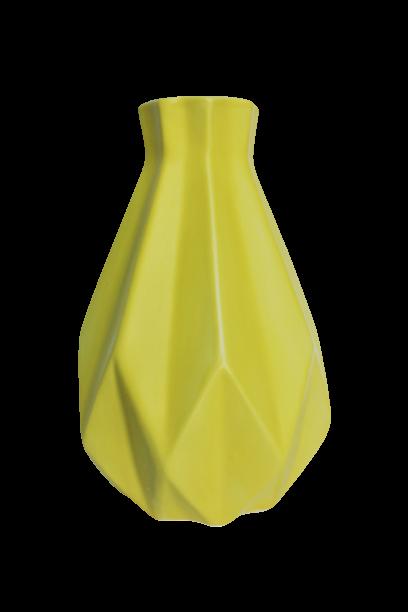Ваза Орігамі 1 жовта
