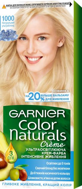 Фарба для волосся Garnier Color Натуральний ультраблонд 1000 110 мл