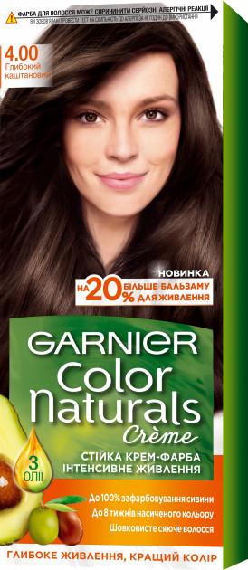 Фарба для волосся Garnier Color Глибокий каштановий 4.00 110 мл