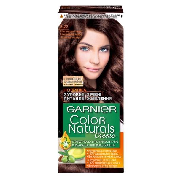 Фарба для волосся Garnier Color Naturals Шоколадний кварц 3.23 110 мл