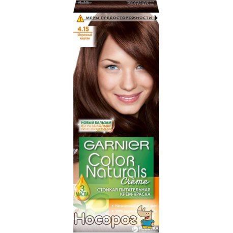 Фарба для волосся Garnier Color Naturals Морозний каштан 4.15 110 мл
