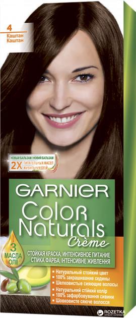 Фарба для волосся Garnier Color Naturals Каштан 4 110 мл
