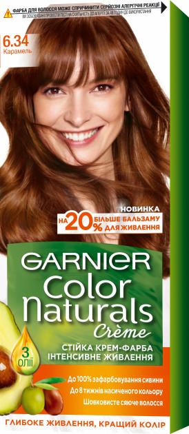 Фарба для волосся Garnier Color Naturals Карамель 6.34 110 мл