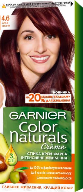 Фарба для волосся Garnier Color Naturals Дика вишня 4.6 110 мл