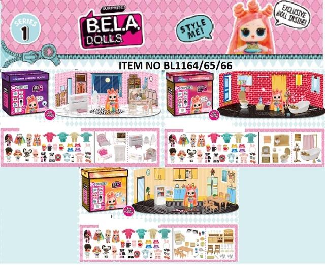 Ігровий набір BELLA DOLS BL1164/65/66