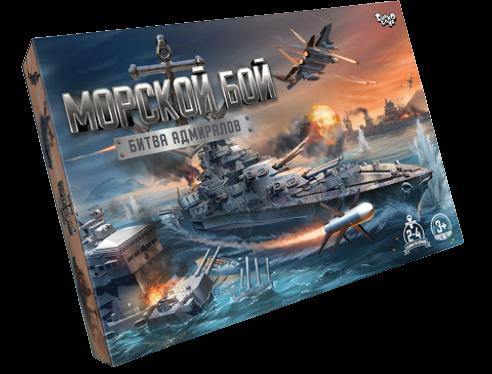 Гра розважальна Морський бій Битва адміралів