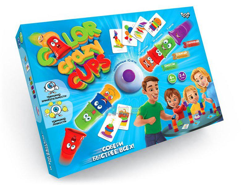 Гра розважальна Color Crazy Cups CCC-01-01