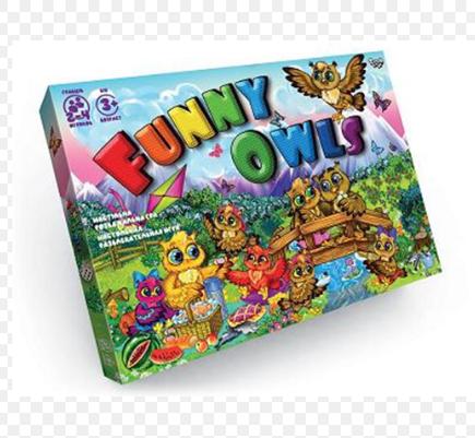 Гра настільна Funny Owls