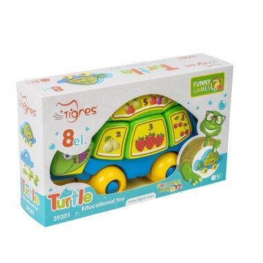 Розвиваюча іграшка Черепаха Розумаха 39201