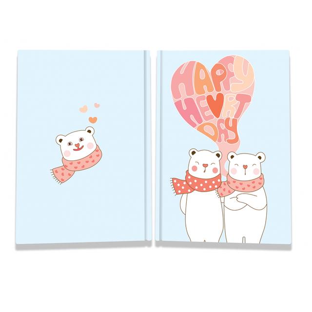 Блокнот TM Profiplan Sweet love note Bears А5