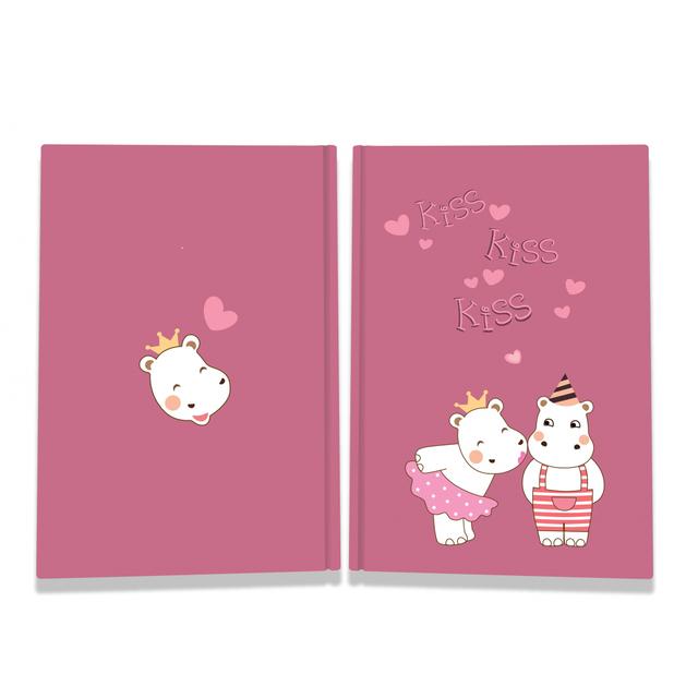 Блокнот TM Profiplan Sweet love note Hippos А5