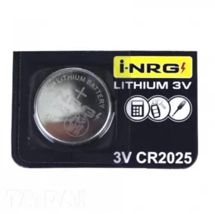 Батарейка 1шт i-NRG CR 2025