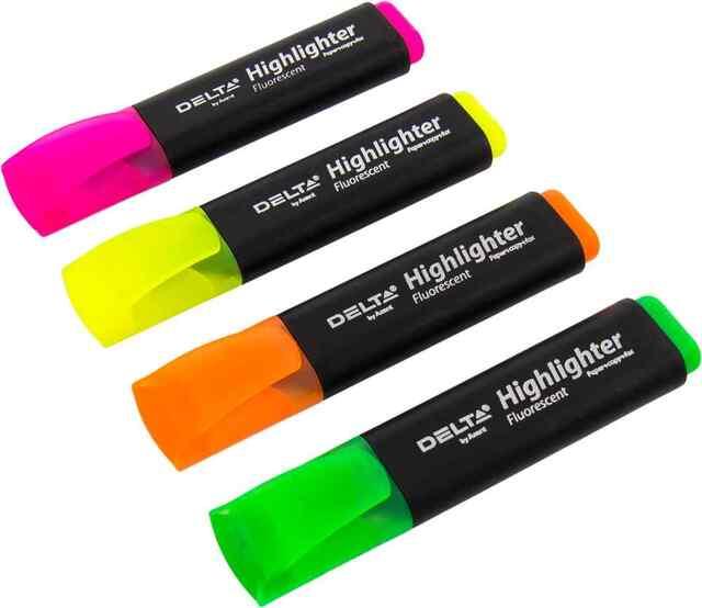 Маркер текстовий DH-801-36 5 кольорів