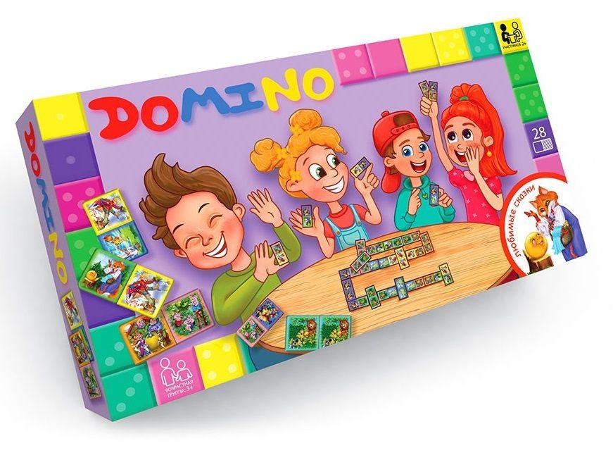 Настільна гра Доміно DTG-DMN-01,02,03,04