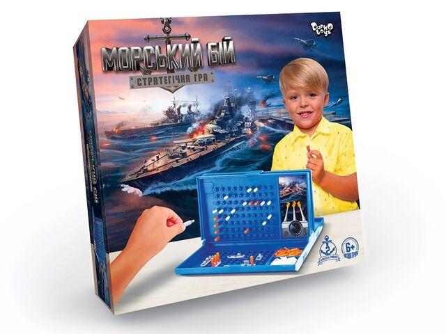 Настільна гра Морський бій G-MB-01U