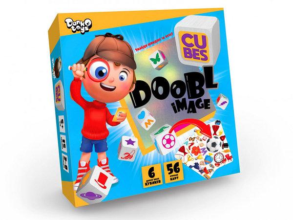 Настільна розважальна гра Doobl Image Cubes укр