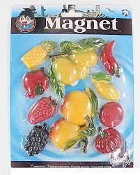 Магніти для дошки Фрукти-овочі 10шт