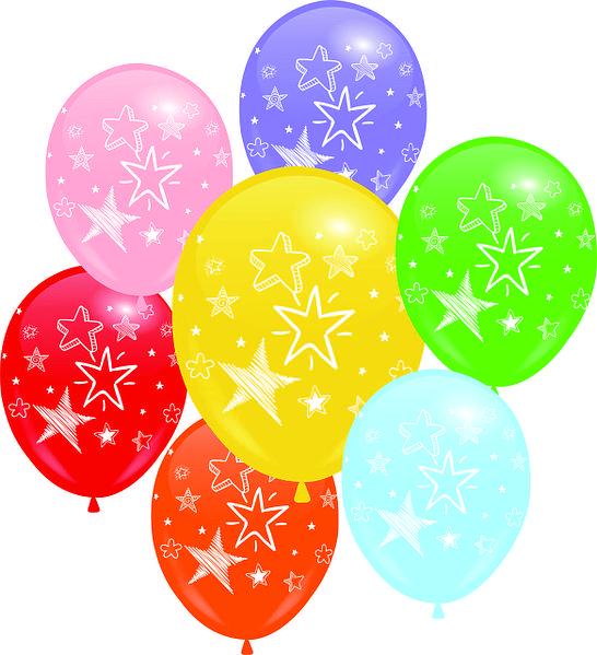 Кульки надувні Paty Baloons 10шт